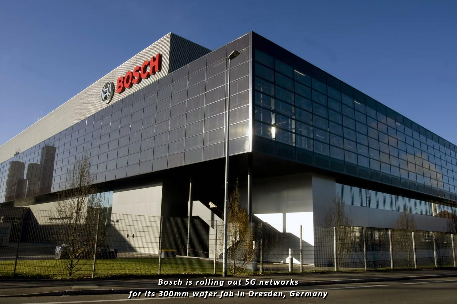 Bosch starts 5G automation tests at Dresden wafer fab