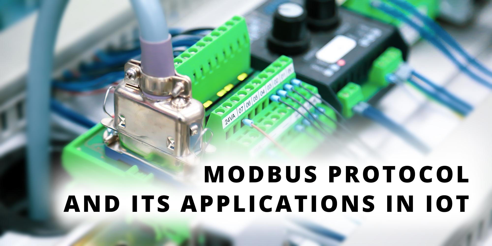 Giao thức Modbus và ứng dụng của nó trong IoT