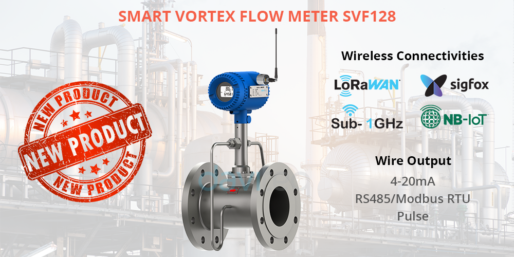 Daviteq launches Smart Vortex Flow Meter SVF128 series to replace Compaflow