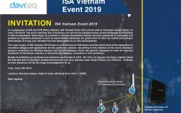 Thư mời tham gia ISA Vietnam 2019